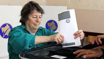 Jornada electoral en Kosovo