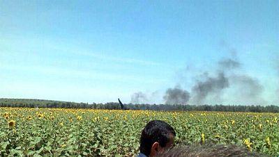 Muere el piloto de un avión de combate en la base de Morón, en un ejercicio de rutina