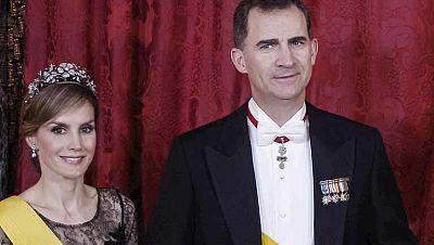 Los Reyes y los Príncipes de gala