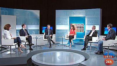 Parlamento - El debate - Abdicación de Juan Carlos I - 07/06/2014