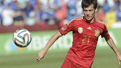 David Silva, el 'Mago' de la selección española