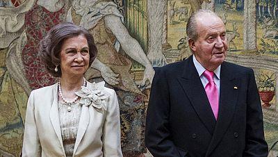 Don Juan Carlos y doña Sofia serán reyes honoríficos tras la proclamación de Felipe VI