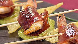 Cocina con Sergio - Bocado de mar y montaña con guacamole