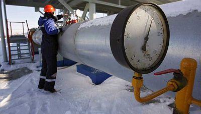Ucrania solo recibirá gas de Rusia si paga por adelantado