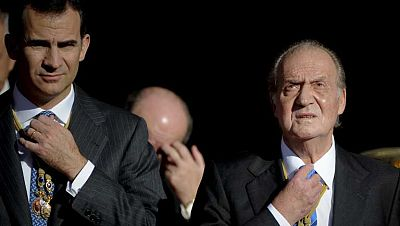 La relación del rey Juan Carlos con su hijo Felipe ha sido siempre muy intensa