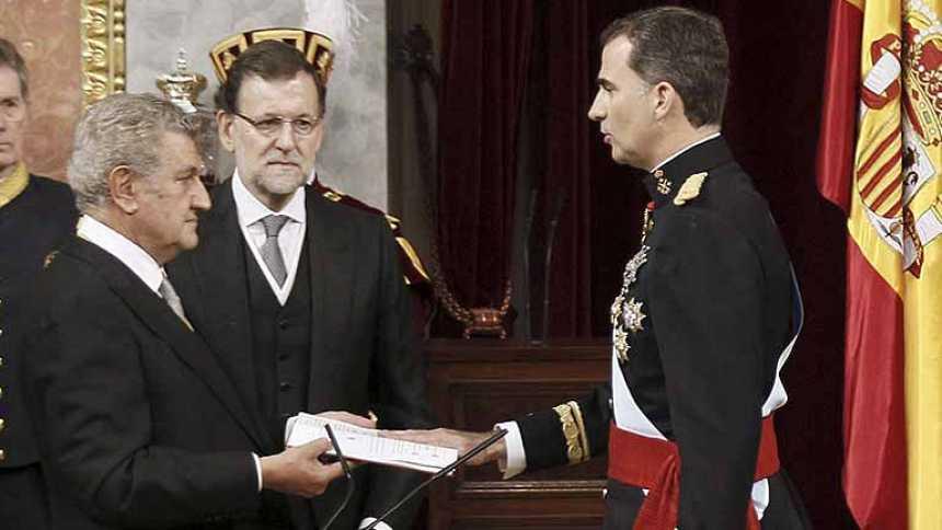 Juramento del rey Felipe VI ante las Cortes Generales