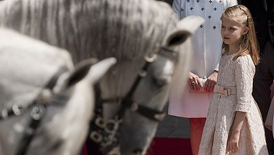 Nueva etapa para Leonor como Princesa de Asturias