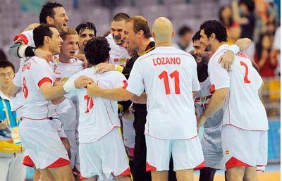 España se mete en semifinales al vencer a Corea por 29-24.