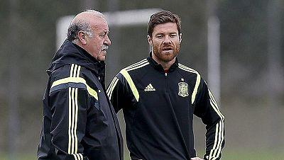 "Xabi Alonso matiza sus palabras y dice que a España le faltó ""intensiad competitiva"""