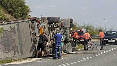 Fin de semana trágico para los ciclistas en la carretera