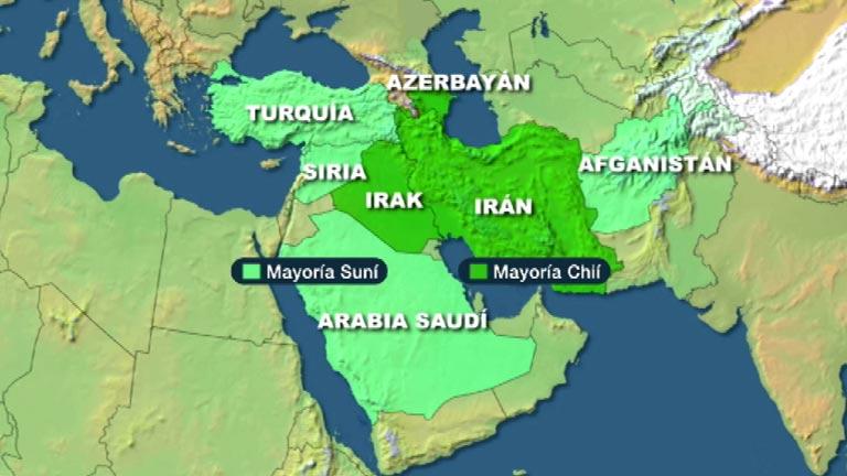 Resultado de imagen de suníes y chiíes