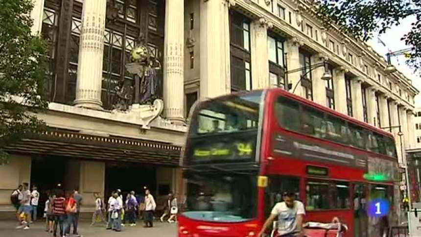 Los almacenes actuales de Selfridges en Londres
