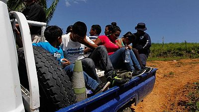 La llegada de menores centroamericanos no acompañados a EE.UU. se convierte en una crisis humanitaria