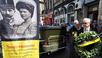 La ciudad de Sarajevo recuerda los 100 años del atentado al heredero del trono austro-húngaro