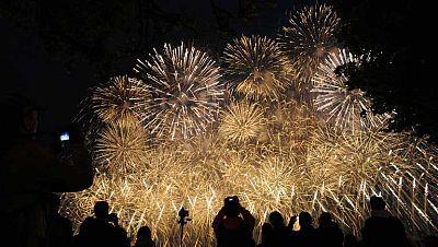 En Burgos se rozó la tragedia en un espectáculo de fuegos artificiales