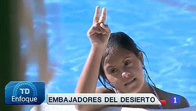 Los niños saharauis vuelven para pasar el verano en España