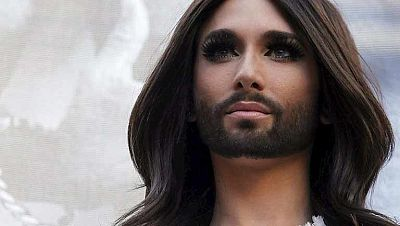 Conchita Wurst revoluciona Madrid