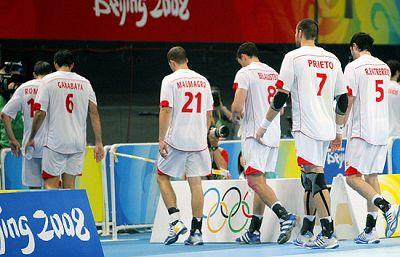 España cae en balonmano (30-36)