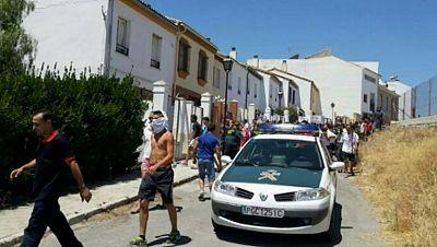 Manifestación en Estepa (Sevilla) contra la oleada de robos en el municipio
