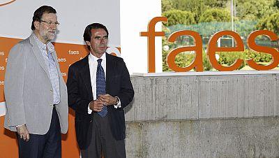 Rajoy y Aznar clausuran el Campus Faes