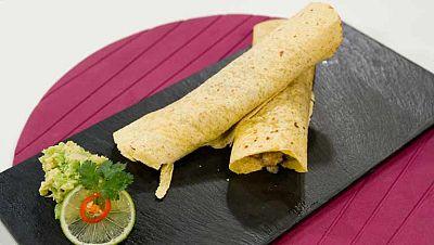 Tacos picantes de ternera
