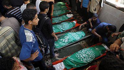 Tercer día de castigo de Israel sobre Gaza