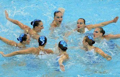 Rusia gana el oro con un ejercicio perfecto
