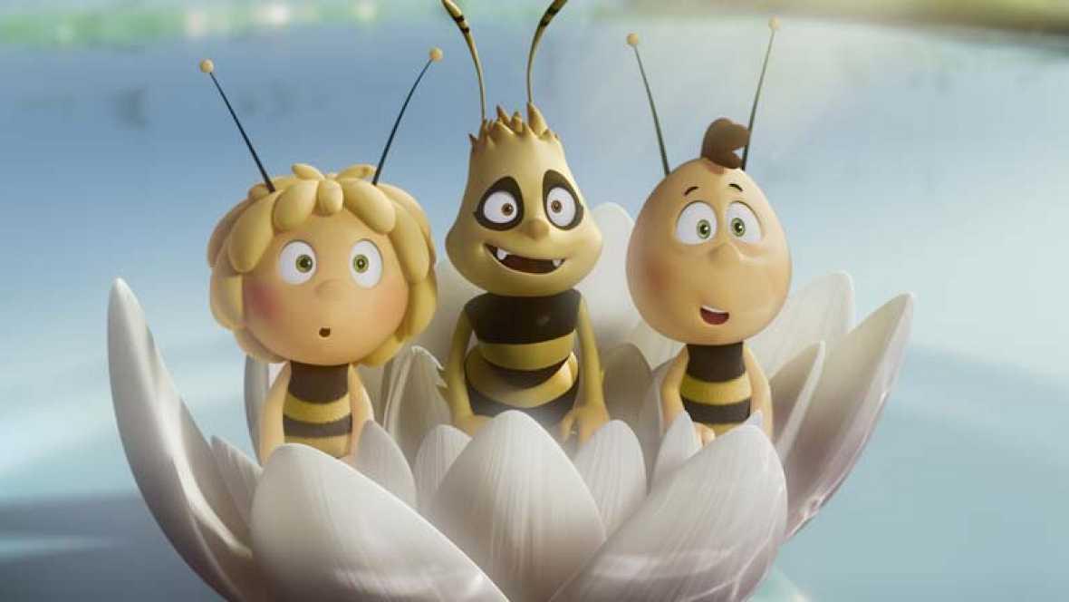 La abeja Maya vuela por primera vez en los cines  RTVEes