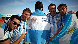 Toda Argentina sueña con la victoria 'albiceleste'
