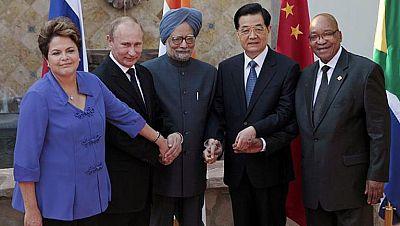 Brasil, Rusia, India, China y Sudáfrica crean un banco de desarrollo conjunto