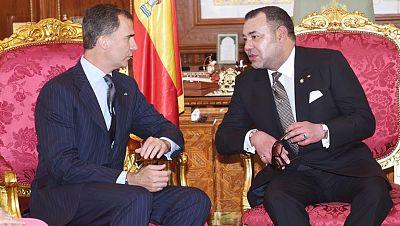 El rey Mohamed VI de Marruecos comunica a Felipe VI que ha ratificado el tratado de pesca con la UE