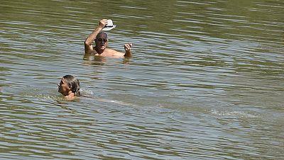 La corriente del río Segre, en Lleida, se llevó por delante la vida de un hombre