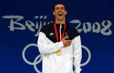 Phelps se ha convertido en estos Juegos en el atleta olímpico más laureado de todos los tiempos.