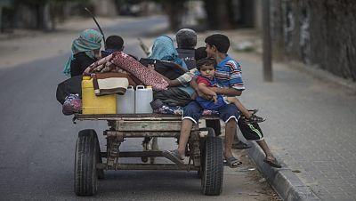 La ofensiva israelí deja a la mitad de la población de Gaza sin acceso a agua potable