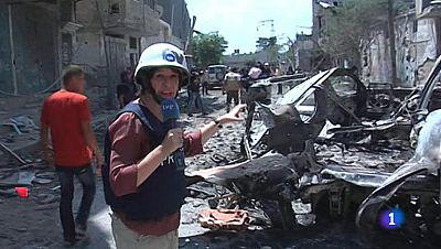 """Yolanda Álvarez en Gaza: """"Es difícil describir tanta destrucción"""""""