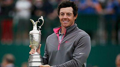 Rory Mcllroy se impoen en el Abierto Británico de golf