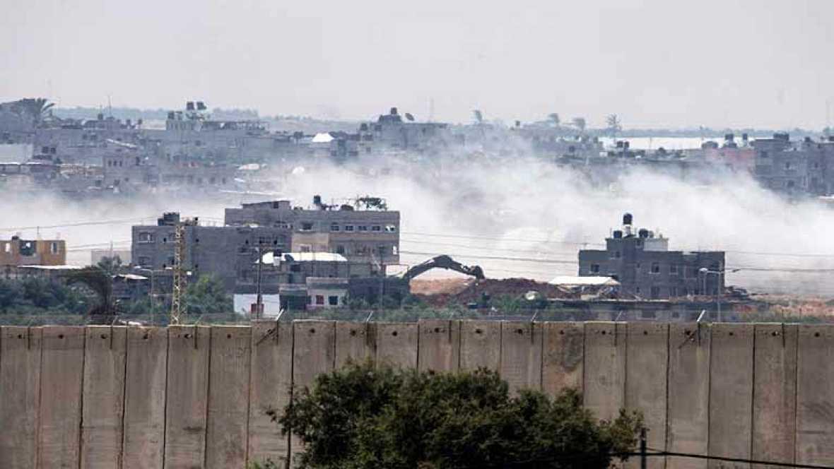Israel ataca una escuela de la ONU y a la prensa internacional en su asedio a Gaza