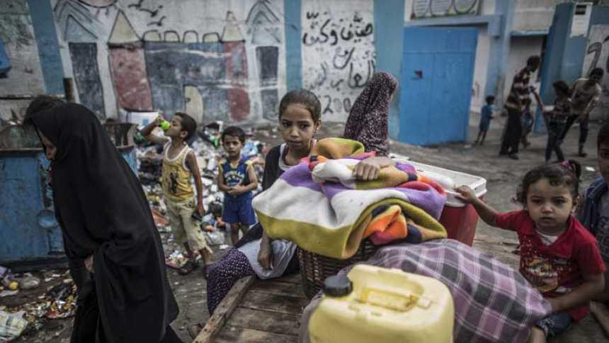 Más de 200 niños muertos tras los ataques de Israel sobre Gaza