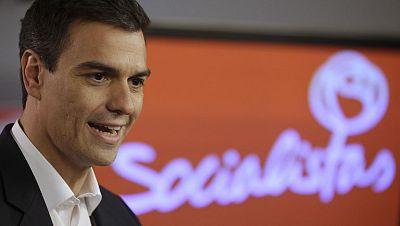 El nuevo Secretario General del PSOE va a Moncloa en su primer día de trabajo