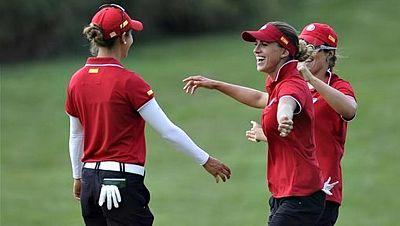 Tanto la selección española de golf femenino como la de waterpolo cosecharon grandes triunfos este fin de semana. Las primeras en la International Crown y las segundas en el europeo de waterpolo.