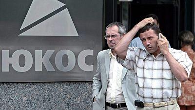 Rusia, condenada a pagar 50.000 millones de dólares a varios accionistas de la petrolera Yukos