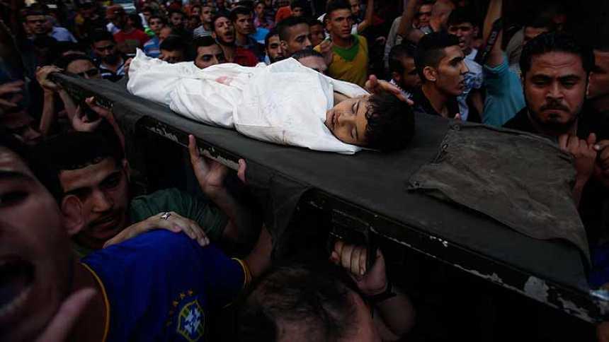 Israel tiñe de sangre el fin de Ramadán en Gaza