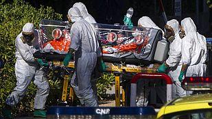 """El misionero infectado por ébola está """"estable"""" y la monja """"en muy buen estado general"""""""