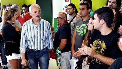 """El alcalde de Santander, Íñigo de la Serna, ha calificado hoy de """"excelente noticia"""" para el Racing y para la ciudad la inscripción del club en Segunda División y ha felicitado a la directiva por su trabajo """"serio y responsable a beneficio del equipo"""