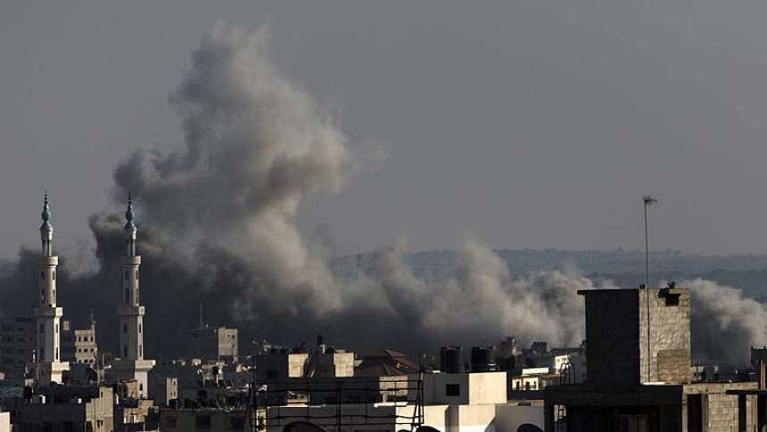 Palestinos e israelíes retoman las hostilidades en Gaza tras el fin de la tregua de tres días
