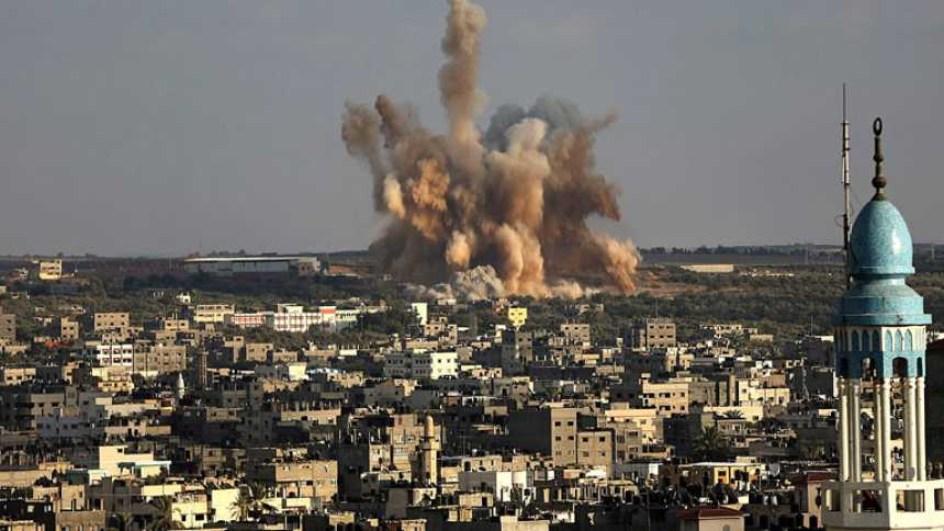Continúa el fuego cruzado entre las tropas israelíes y las milicias palestinas