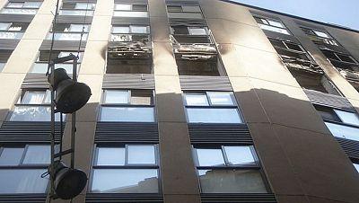 Muere una mujer por la explosión de una bombona de butano en una vivienda de Lleida