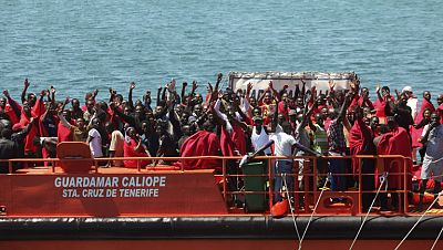 Llegan al Estrecho más de 1.000 inmigrantes en 48 horas