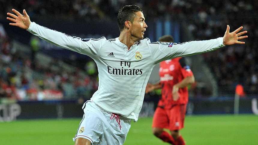 Cristiano Ronaldo alcanza los 70 goles en competición europea