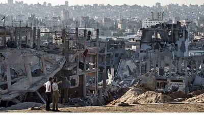 Los gazatíes aprovechan la tregua para evaluar las pérdidas tras los bombardeos